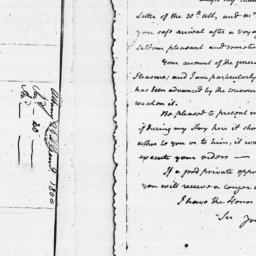 Document, 1784 February 20