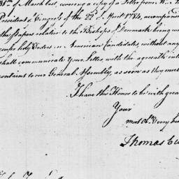 Document, 1785 April 18