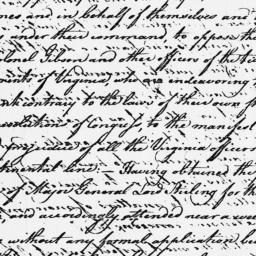 Document, 1779 August 07