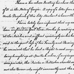 Document, 1786 January 30
