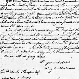 Document, 1785 December n.d.
