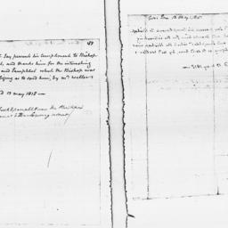 Document, 1815 May 13