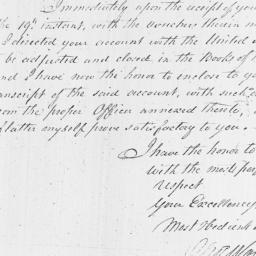 Document, 1796 October 27