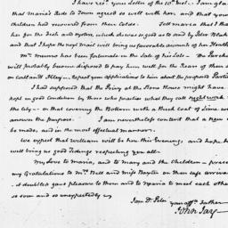 Document, 1825 February 15