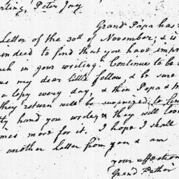 Document, 1783 December 06