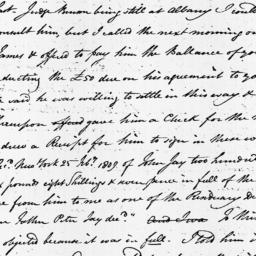 Document, 1809 March 03
