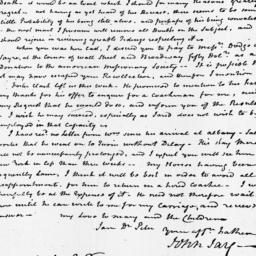Document, 1816 November 05