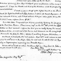 Document, 1823 September 16