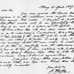 Document, 1827 April 18