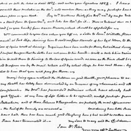 Document, 1823 January 21