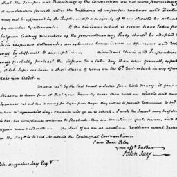Document, 1821 October 16