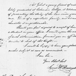 Document, 1821 October 06