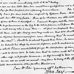 Document, 1819 October 26