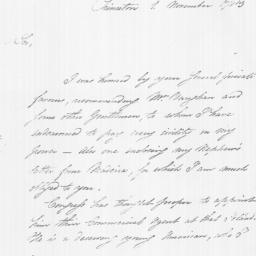 Document, 1783 November 01