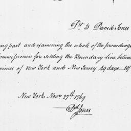 Document, 1769 November 27