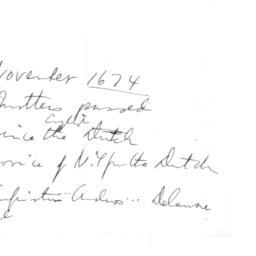 Document, 1674 October 31 -...