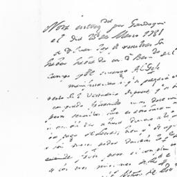 Document, 1781 March 25