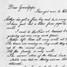 Document, 1821 October 26