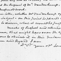 Document, 1813 February 25
