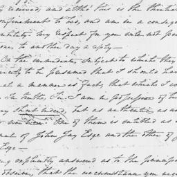 Document, 1821 March 16
