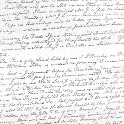 Document, 1799 August 23