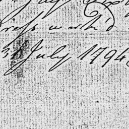 Document, 1794 July 31