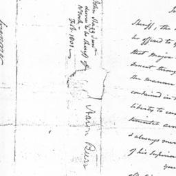 Document, 1801 February 23