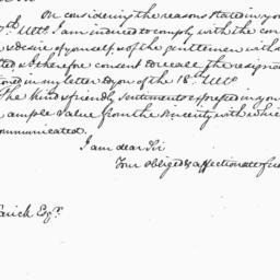 Document, 1826 April 1