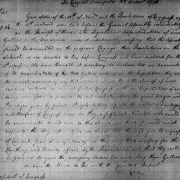 Document, 1778 December 10