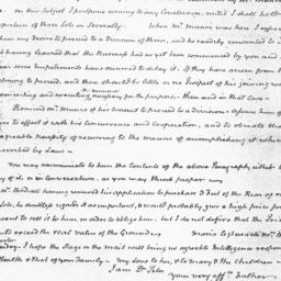 Document, 1825 March 22