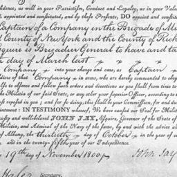 Document, 1800 November 19