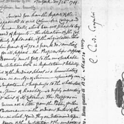 Document, 1799 January 26