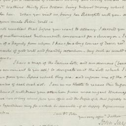 Document, 1821 November 27