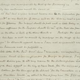 Document, 1821 March 05