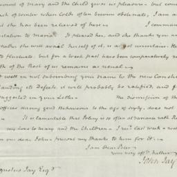 Document, 1820 November 20