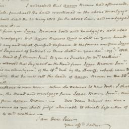 Document, 1820 August 16