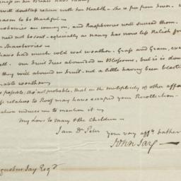 Document, 1820 June 13