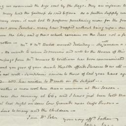 Document, 1819 August 25