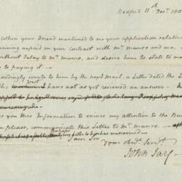 Document, 1806 December 11