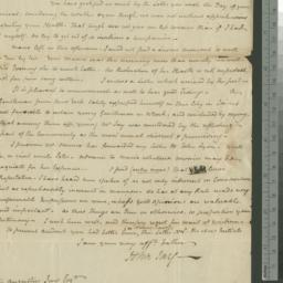 Document, 1800 February 22