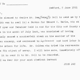 Document, 1801 June 8
