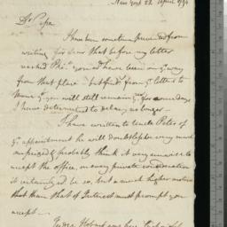 Document, 1794 April 22