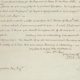 Document, 1823 February 03