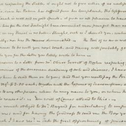Document, 1822 March 01