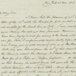 Document, 1814 November 26