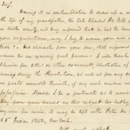 Document, 1822 August 04