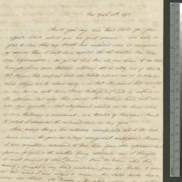 Document, 1829 April 26