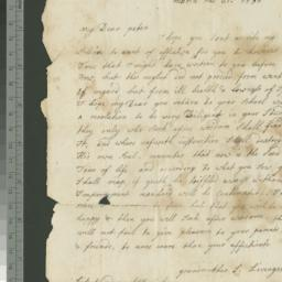 Document, 1786 March 21