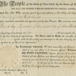 Document, 1819 April 06