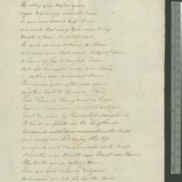 Document, 1812 January n.d.